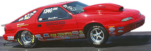 SGE Car - Winner of IHRA Best Engineered Sportsman Car of 2004